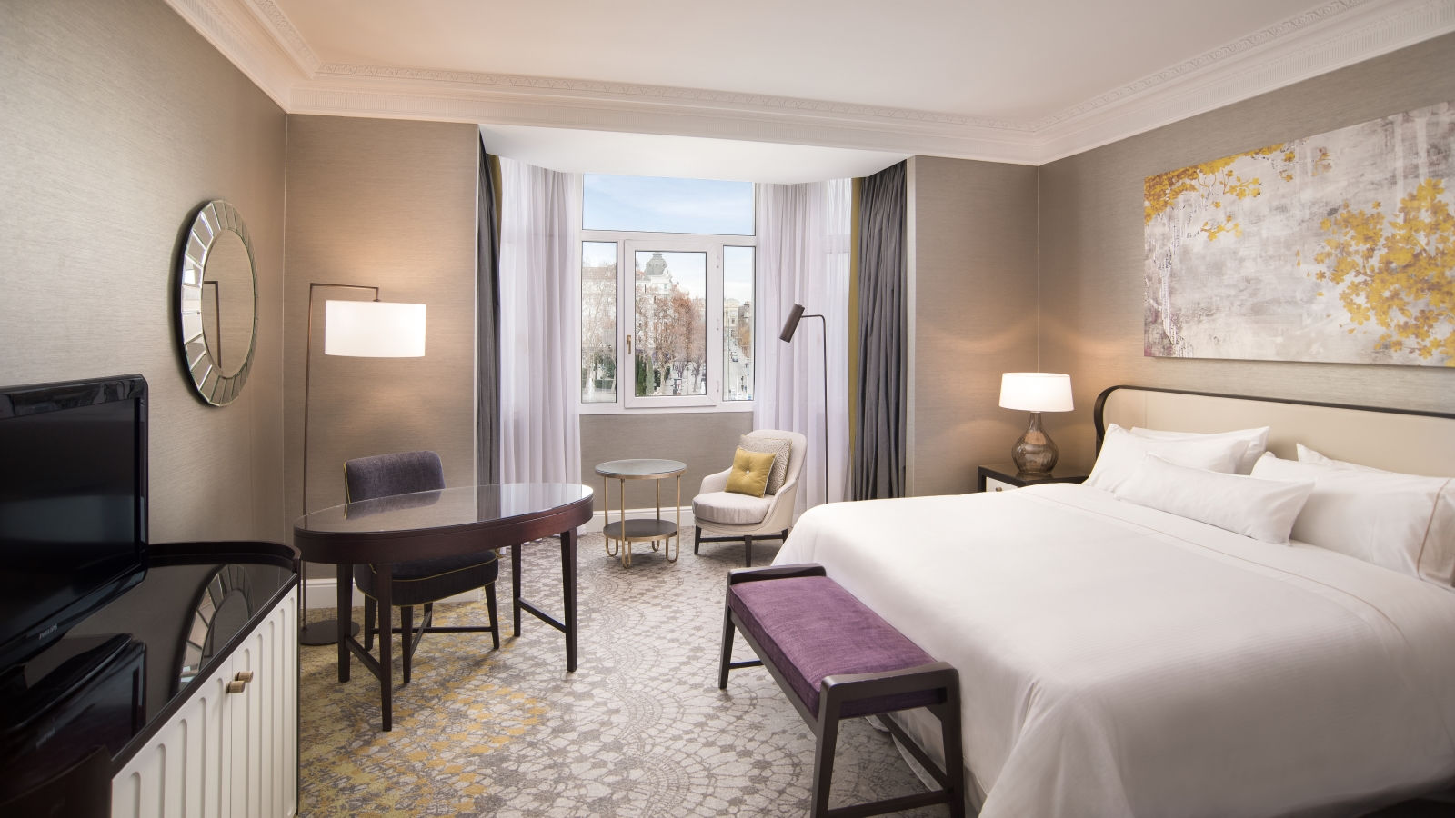 PREMIUM VIEW ROOM AT THE WESTIN PALACE, MADRID