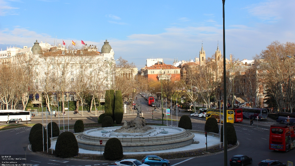 A favourite view from The Westin Palace, Madrid